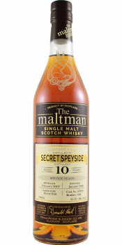 Secret Speyside Distillery 2007 MBl