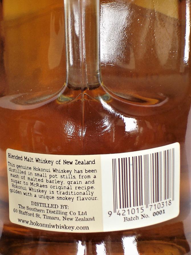 Old Hokonui Blended Malt Whiskey