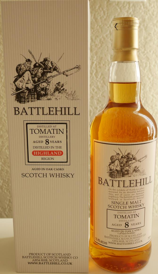 Tomatin 08-year-old BSW