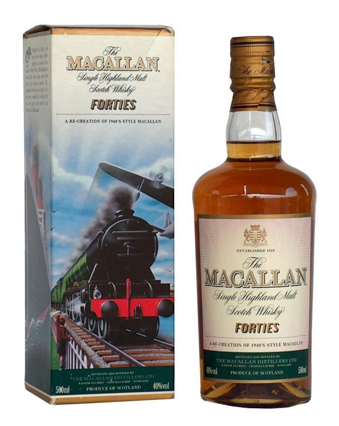 Macallan Travel Series 1940's