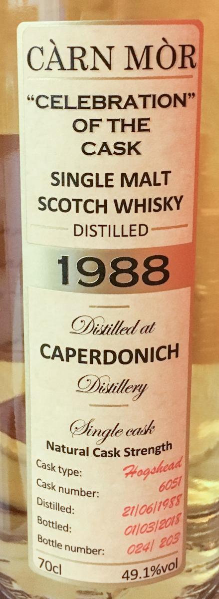 Caperdonich 1988 MMcK