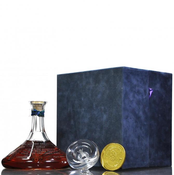 Bowmore Save The Children Decanter