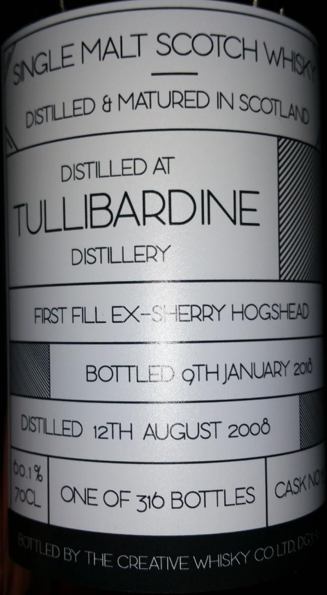 Tullibardine 2008 CWC