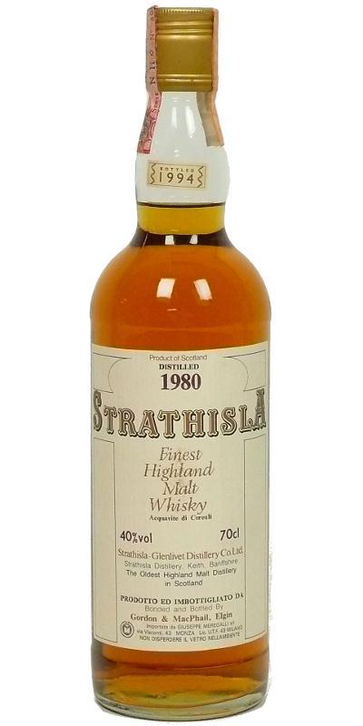 Strathisla 1980 GM