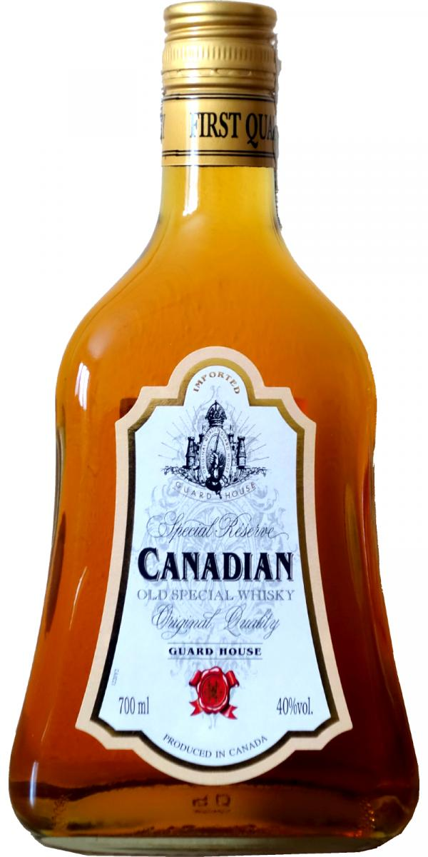 Canadian Guard House - Old Special Whisky