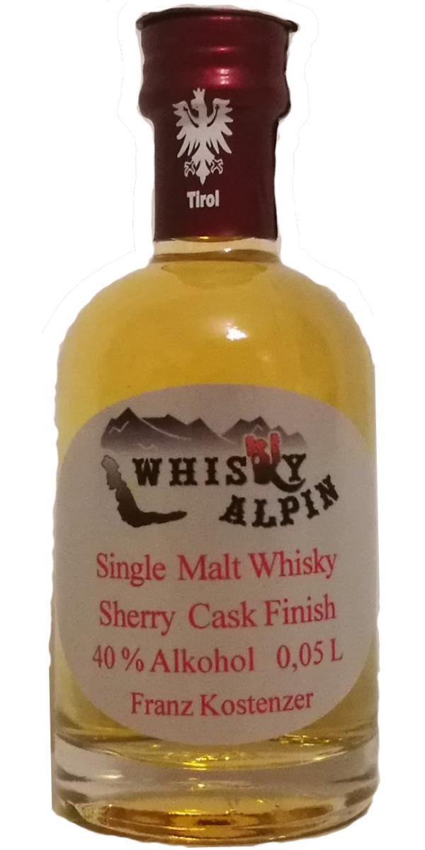 Whisky Alpin Single Malt Whisky