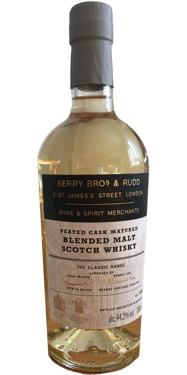 Blended Malt Scotch Whisky Peated Cask Matured