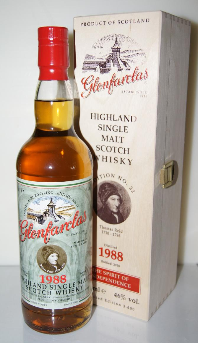 Glenfarclas 1988 Edition N°22
