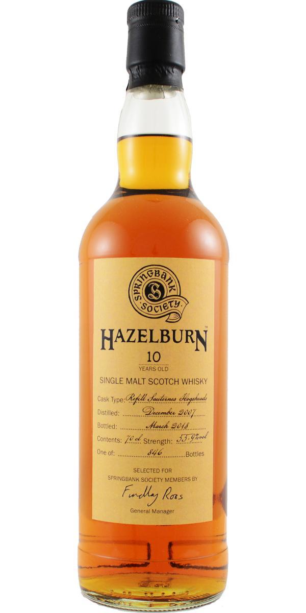 Hazelburn 2007