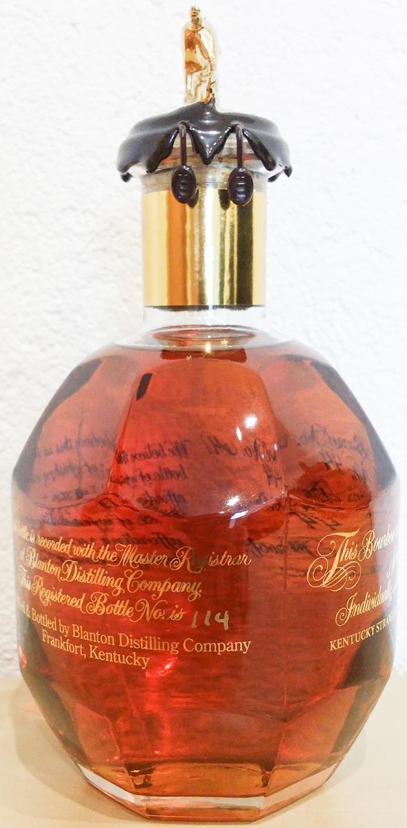 Blanton's Single Barrel Gold with Humidor
