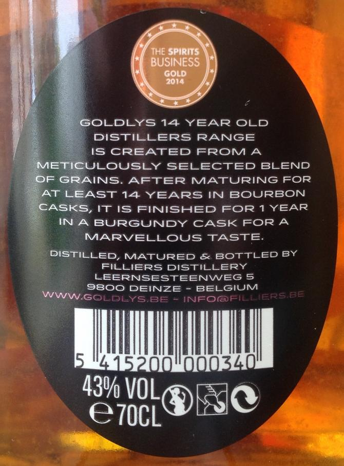 Goldlys 14-year-old