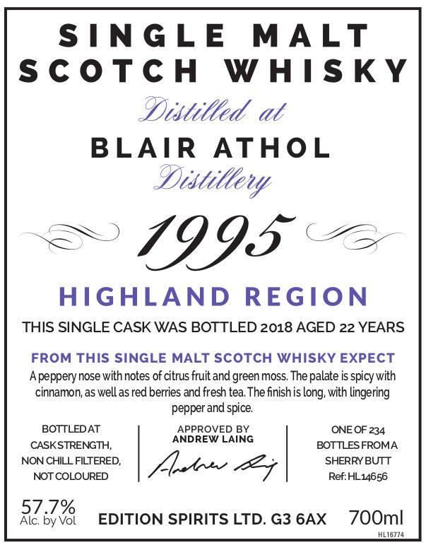 Blair Athol 1995 ED