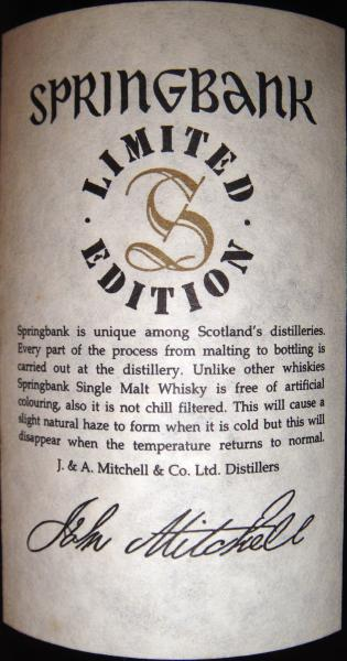 Springbank 30-year-old