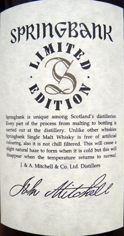 Springbank 35-year-old