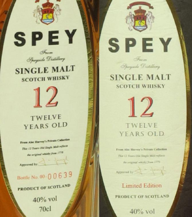 SPEY 12-year-old