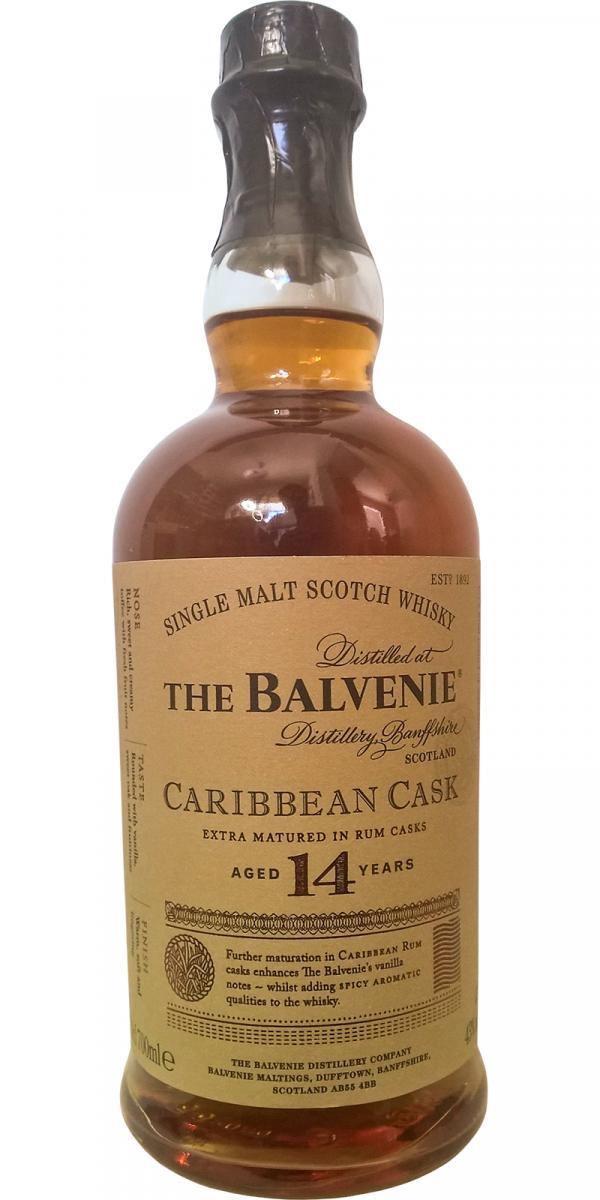 Balvenie 14 Years Caribbean Cask Whisky [0,7L|43%] - ezustcsillag.hu