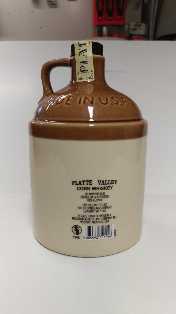 Platte Valley 100% Straight Corn Whiskey