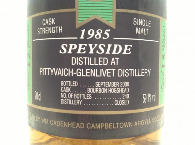Pittyvaich 1985 CA