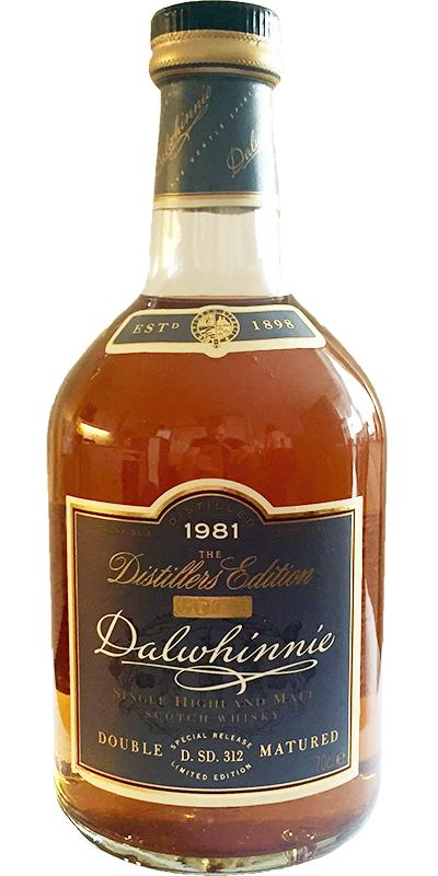 Dalwhinnie 1981