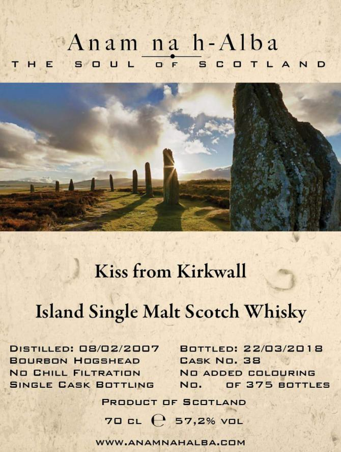 Kiss from Kirkwall 2007 ANHA