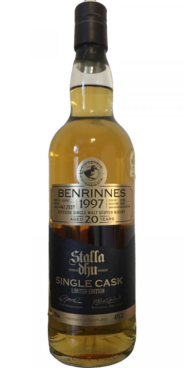 Benrinnes 1997 SDW
