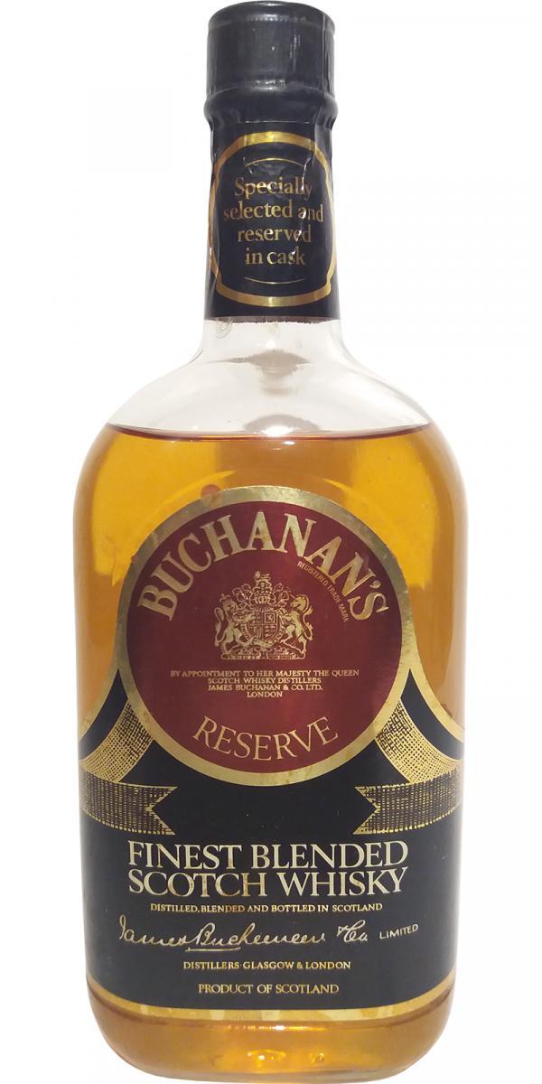Buchanan's Reserve