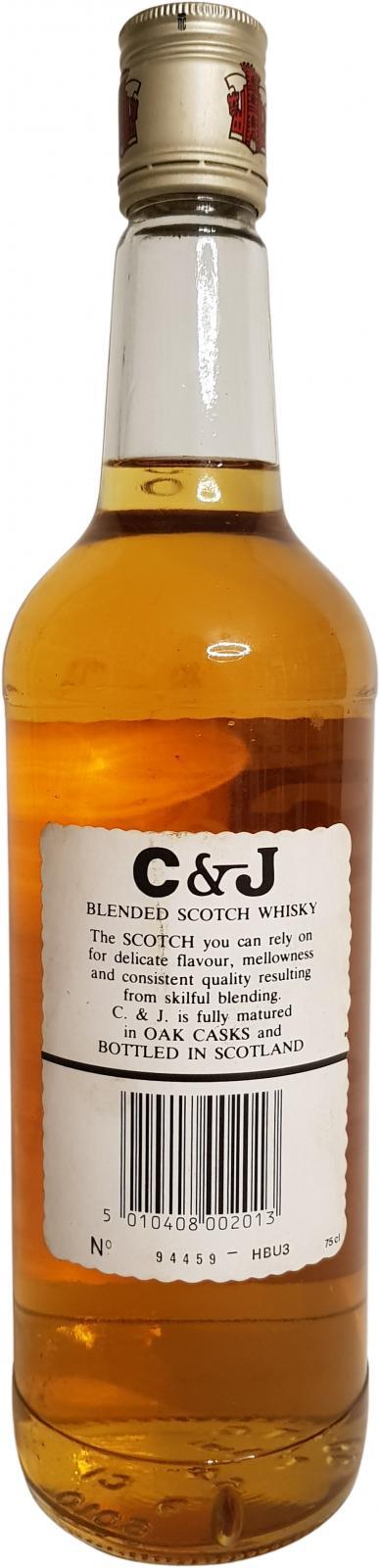 C&J McDonald's Fine Old Scotch Whisky