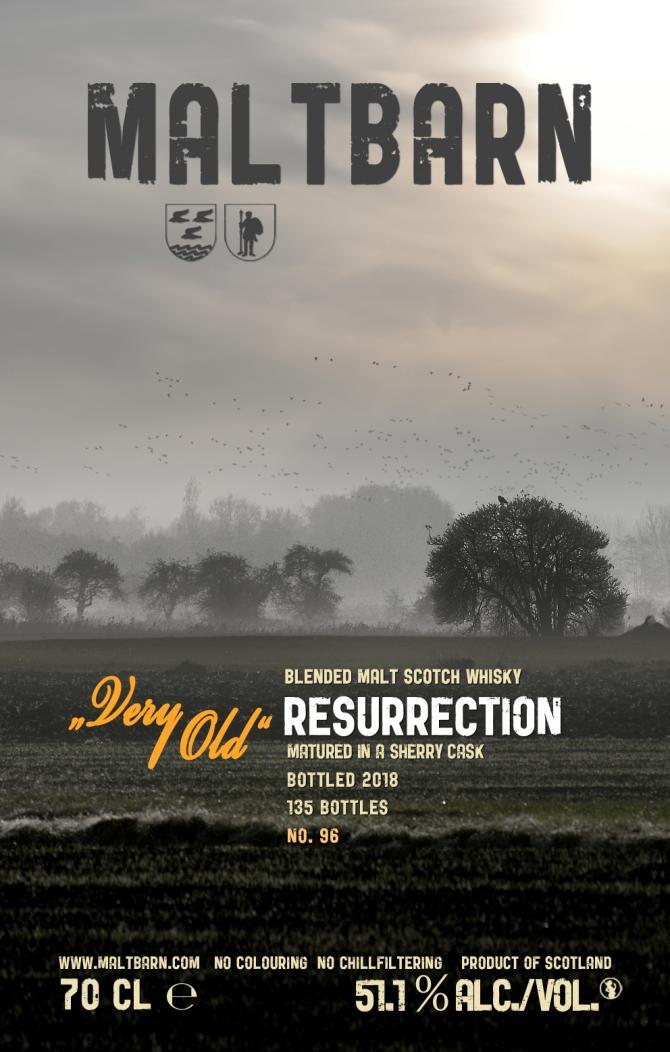 Resurrection Very Old MBa