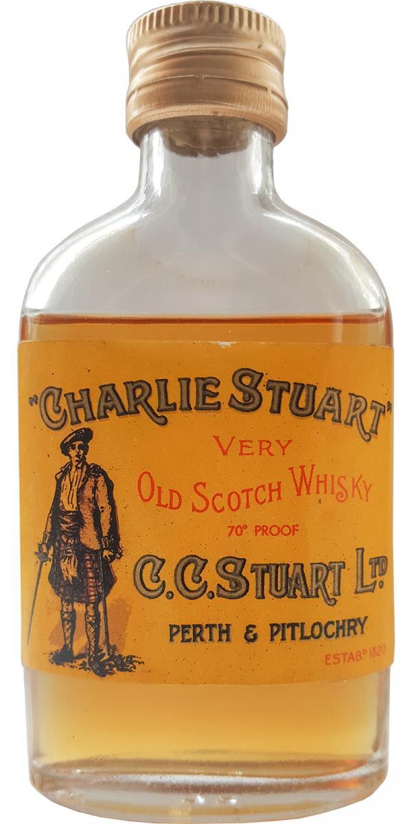 Charlie Stuart Very Old Scotch Whisky