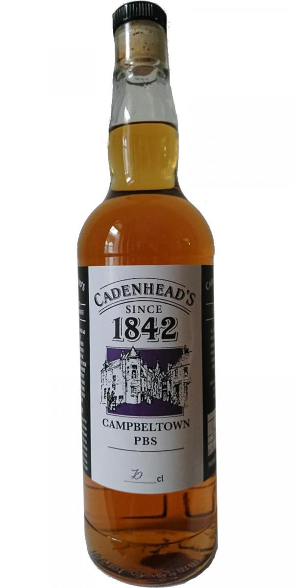 Campbeltown PBS Cadenhead's 1842 CA