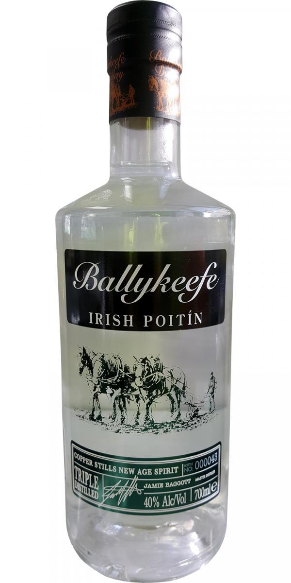 Ballykeefe Distillery Irish Poitin