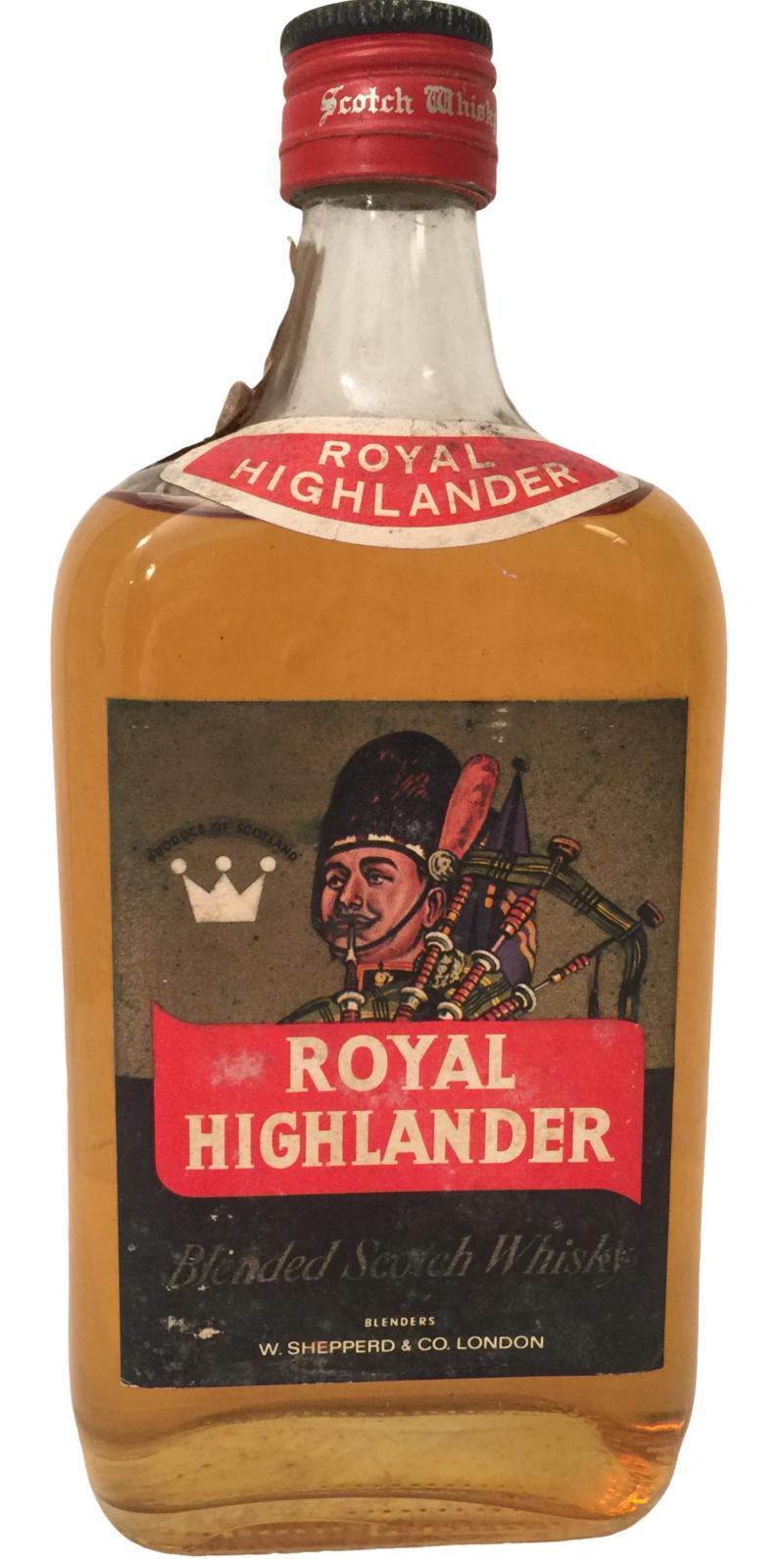 Royal Highlander Blended Scotch Whisky