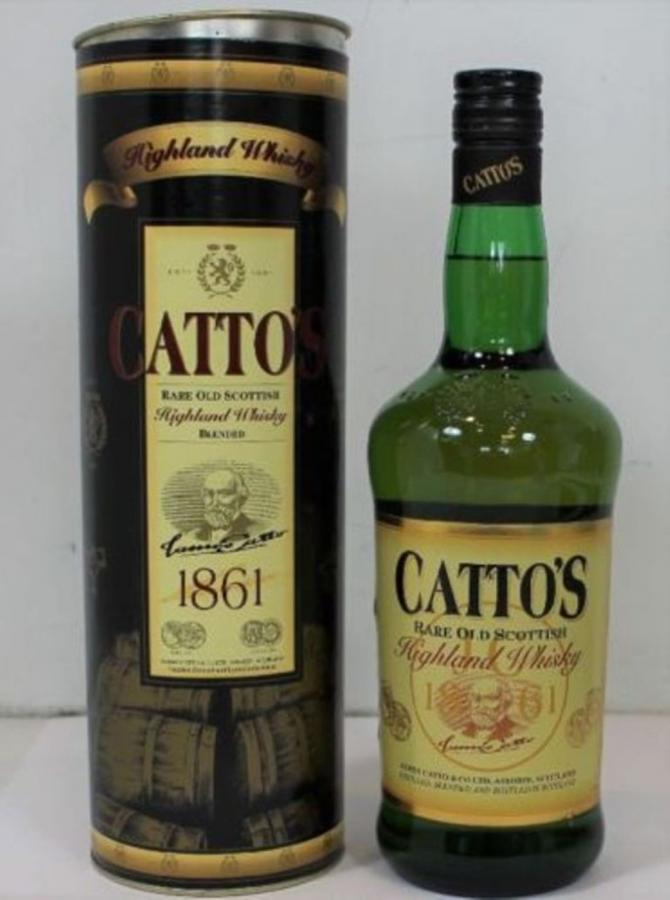 Catto's Rare Old Scottish Highland Whisky