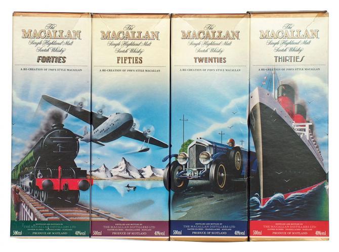 Macallan Travel Series 1950's