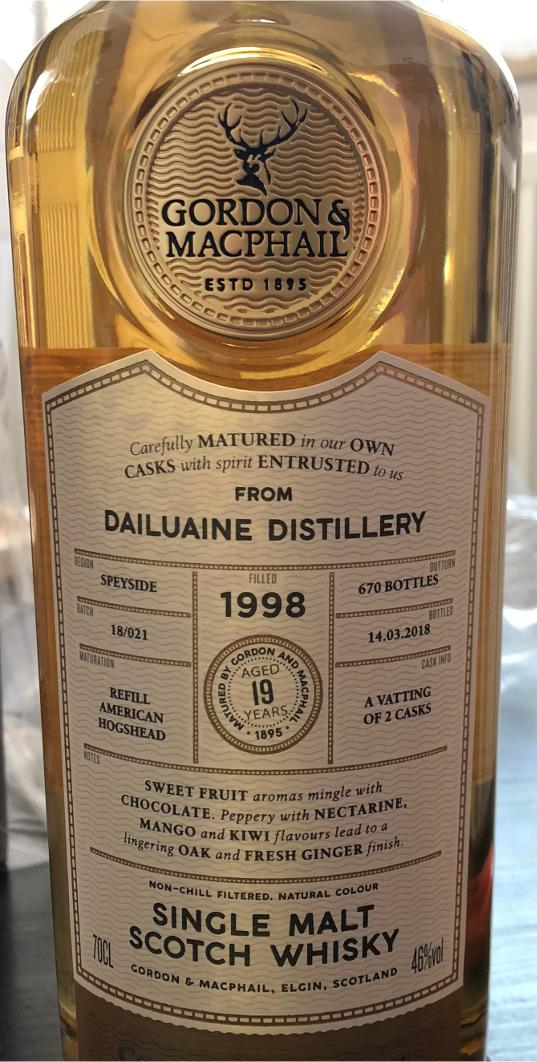 Dailuaine 1998 GM