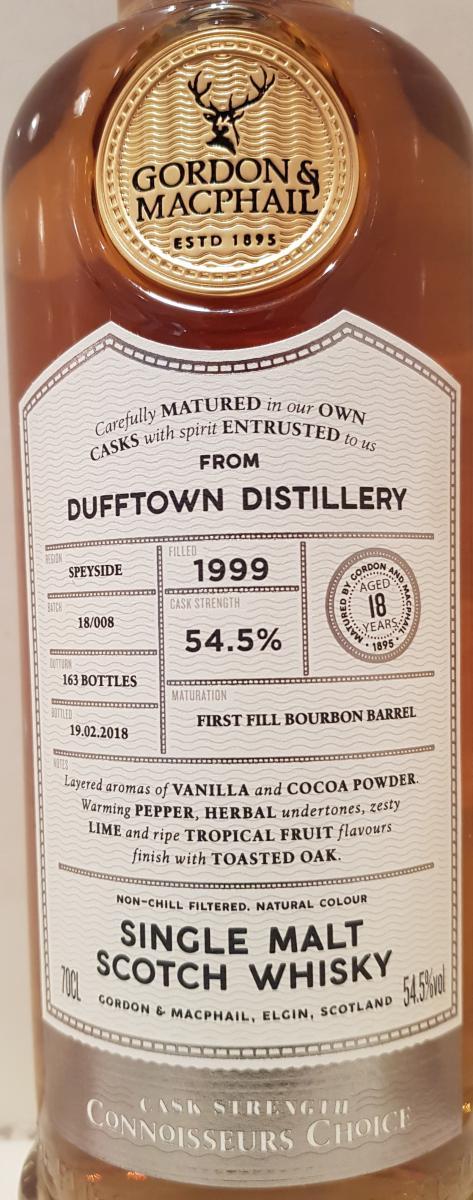 Dufftown 1999 GM