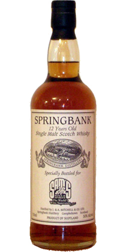 Springbank 12-year-old Private Bottling