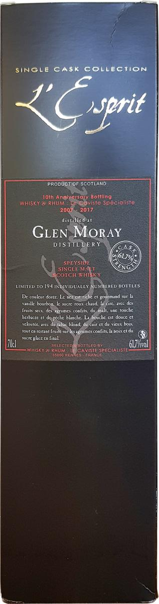 Glen Moray 2007 WRh