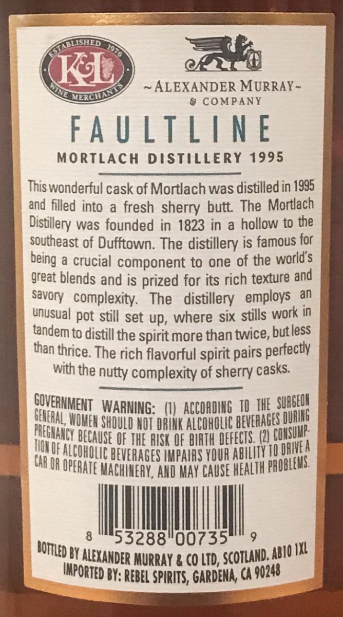 Mortlach 1995 K&L