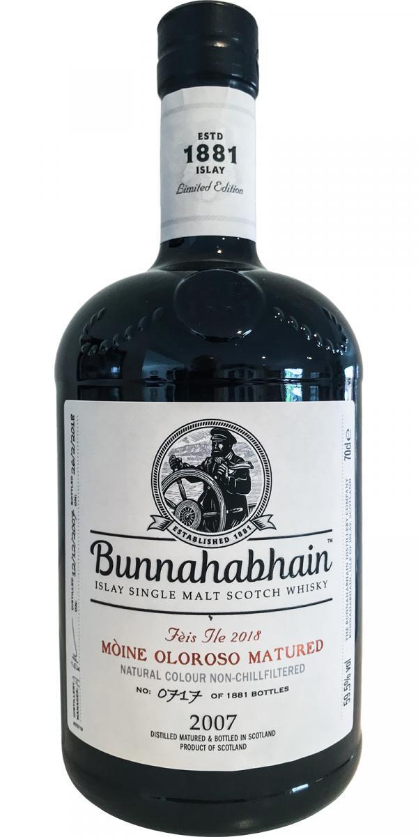 Bunnahabhain 2007 Mòine