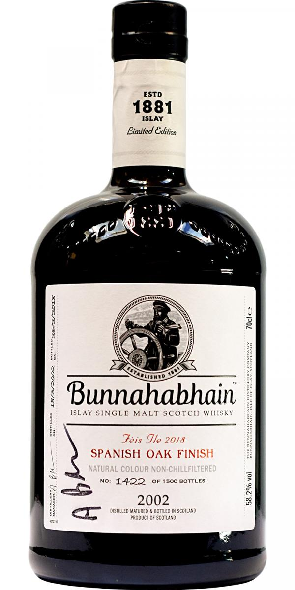 Bunnahabhain 2002