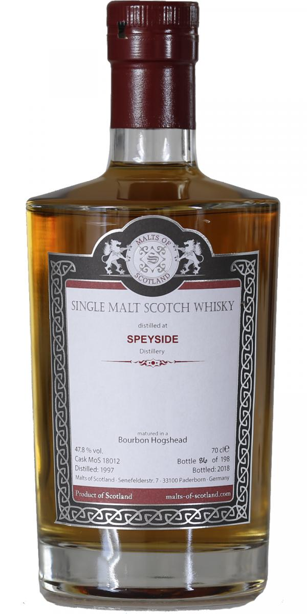 Speyside Distillery 1997 MoS