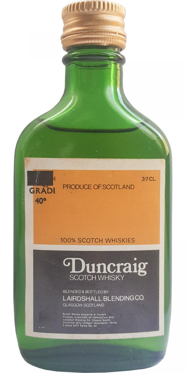 Duncraig Scotch Whisky LsBl
