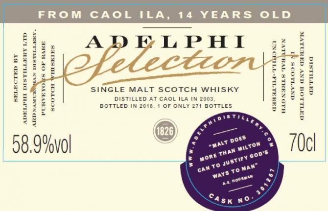 Caol Ila 2003 AD