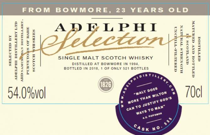 Bowmore 1994 AD