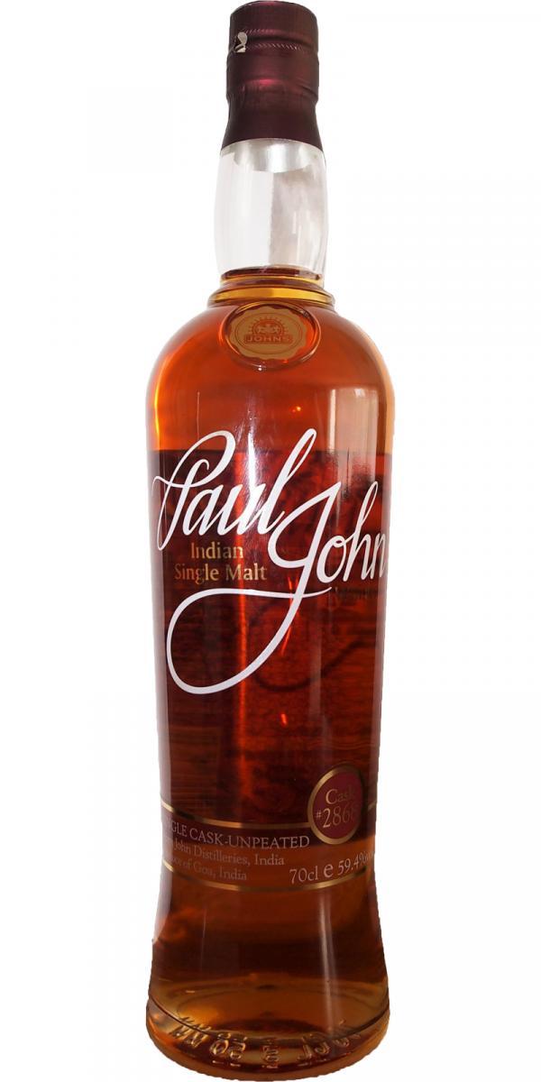 Paul John Single Cask - Unpeated