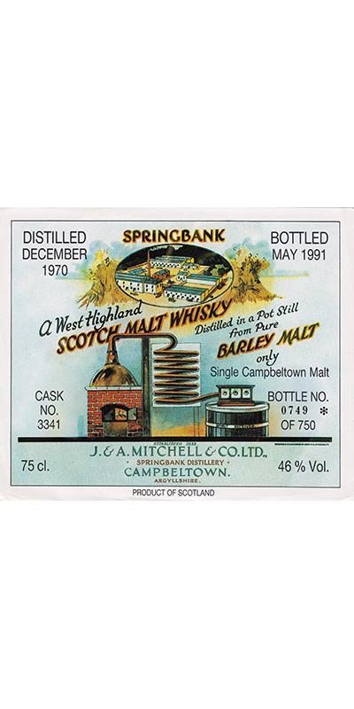 Springbank 1970