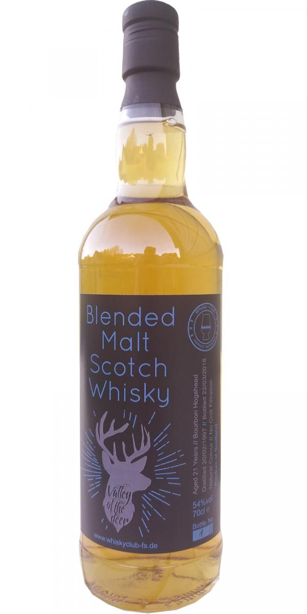 Blended Malt Scotch Whisky 1997 UD - Valley of the deer