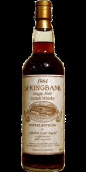 Springbank 1964 Private Bottling