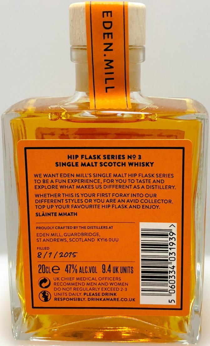 Eden Mill Hip Flask Series No. 3